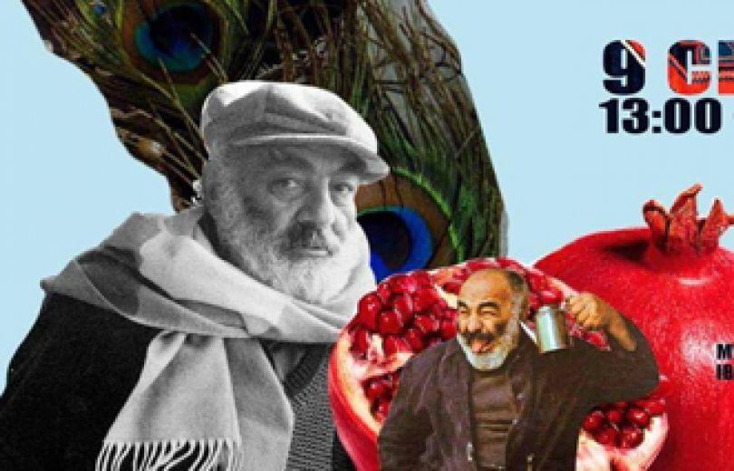 Рождественские коллажи в честь дня рождения Сергея Параджанова