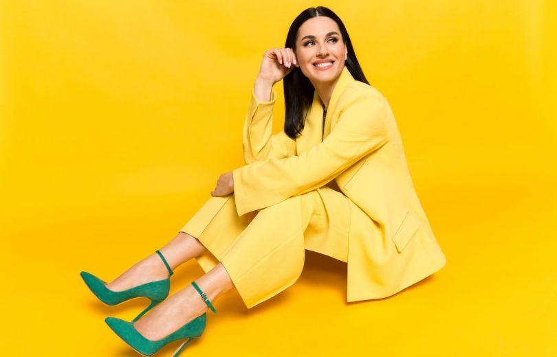 Маша Ефросинина создала эксклюзивную модель туфель
