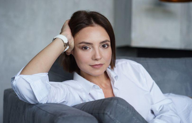 Писательница Галина Горицкая