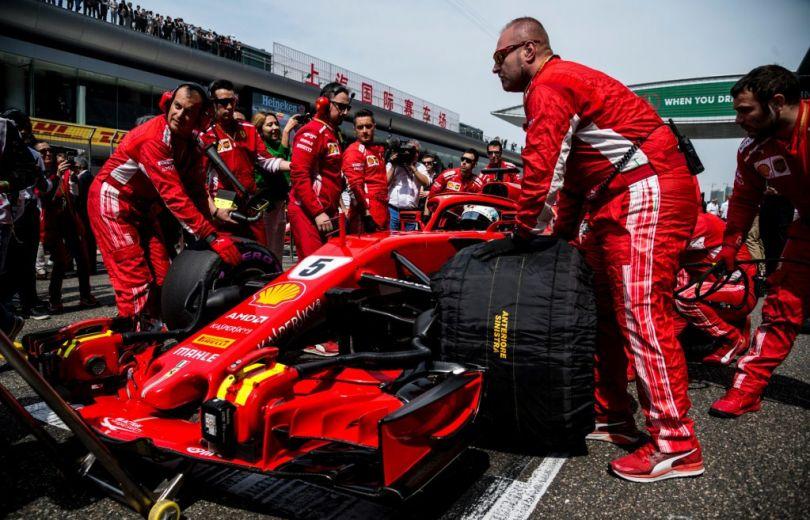 В Киев на один день приедет команда Scuderia Ferrari Формулы-1