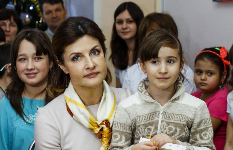Марина Порошенко на благотворительном празднике