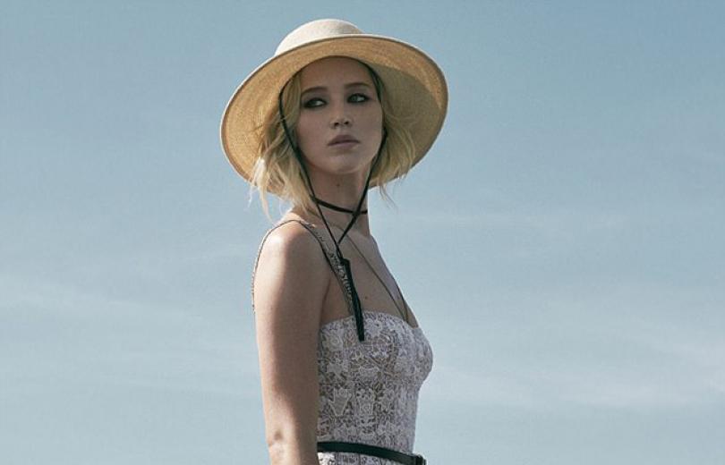 Девушка-мечта: нежная Дженнифер Лоуренс блистает в рекламе Dior