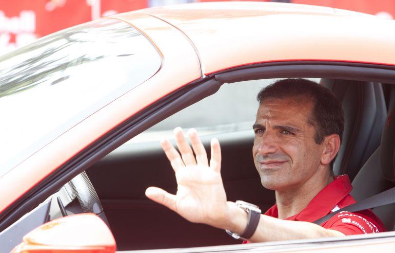 На Зажигательном шоу от Shell побывала команда Scuderia Ferrari Формулы 1