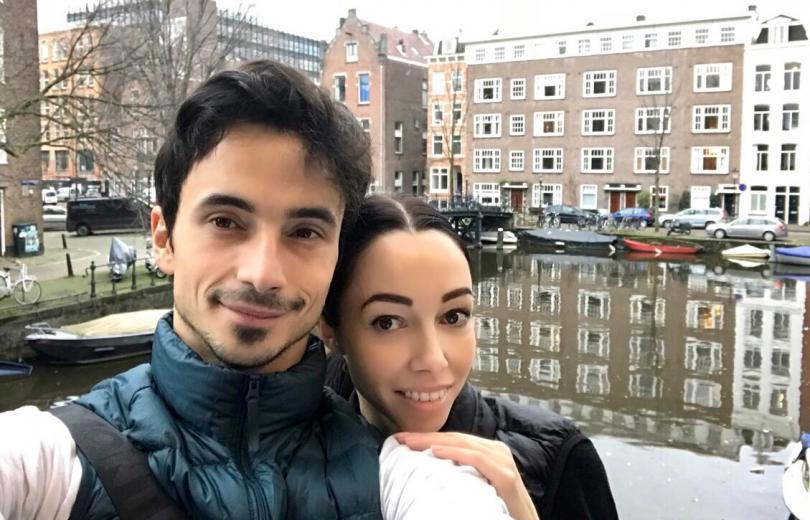 Екатерина Кухар и Александр Стоянов в Амстердаме