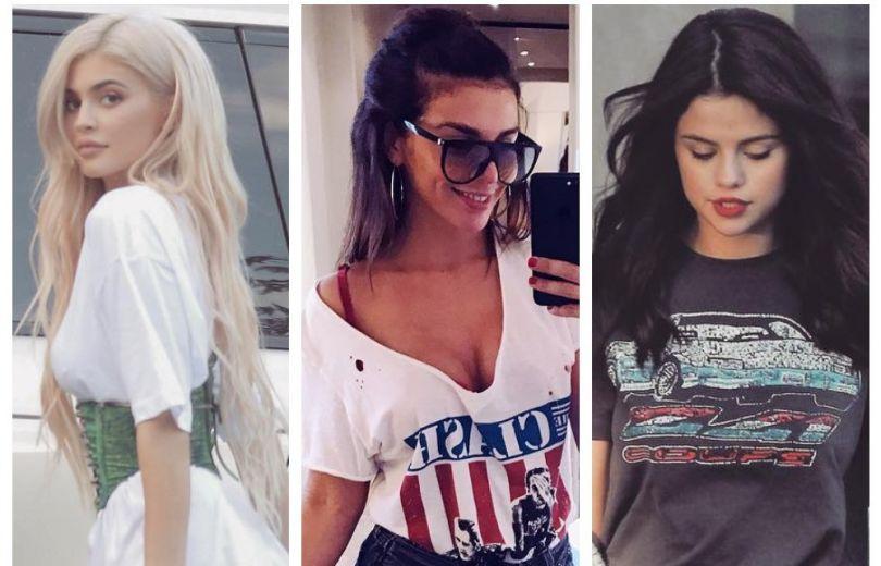 Как и с чем носить футболку?