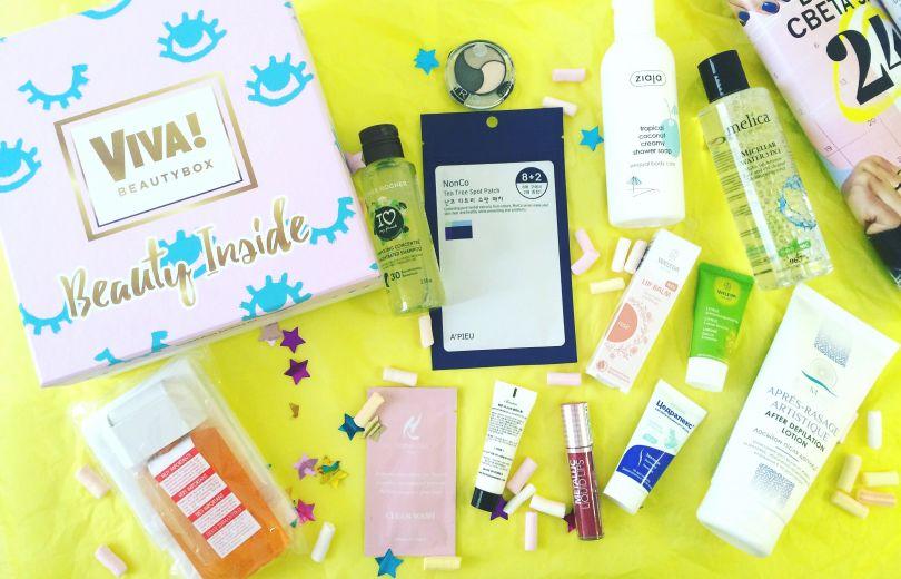 Лимитированная коробочка Viva!Beauty Box, которую ты так долго ждала!