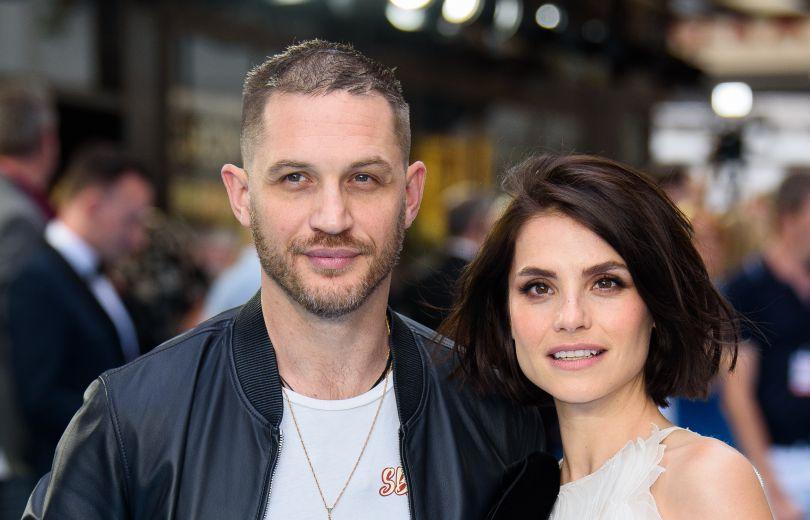 Том Харди и его жена