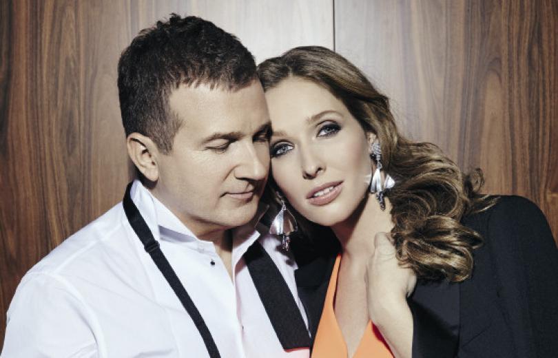 Екатерина Осадчая и Юрий Горбунов в фотосессии Viva!
