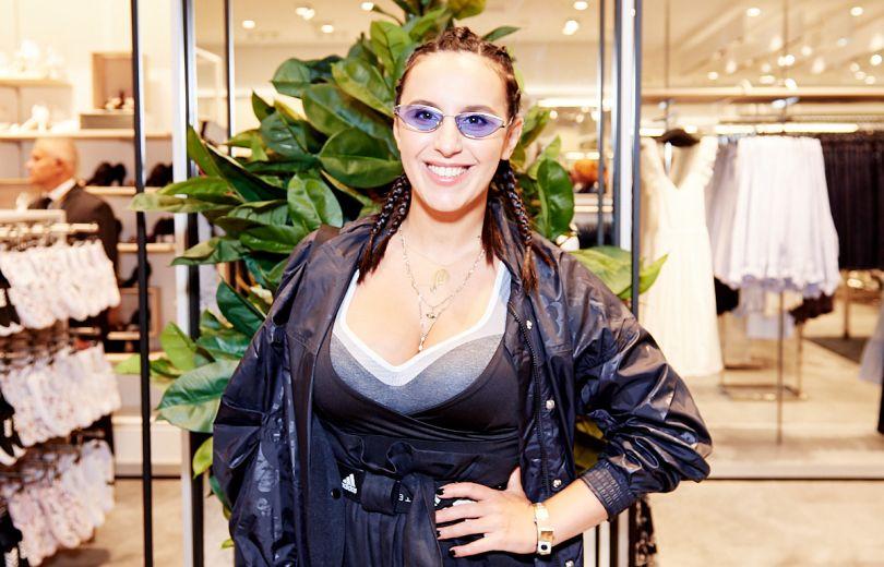 Джамала на открытии магазина H&M в Киеве