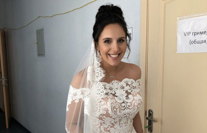 Джамала в свадебном платье