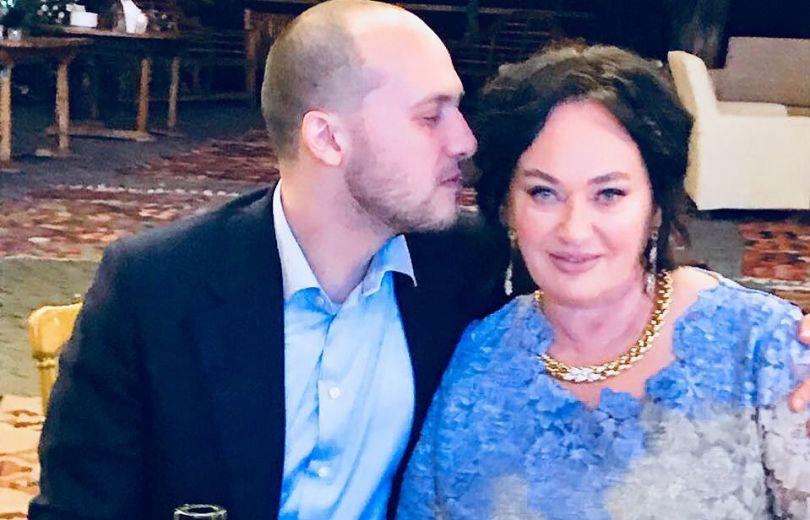 Лариса Гузеева с сыном