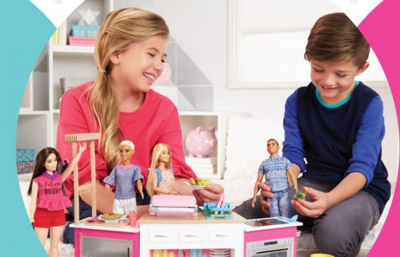 Barbie приглашает детей на сказочный праздник