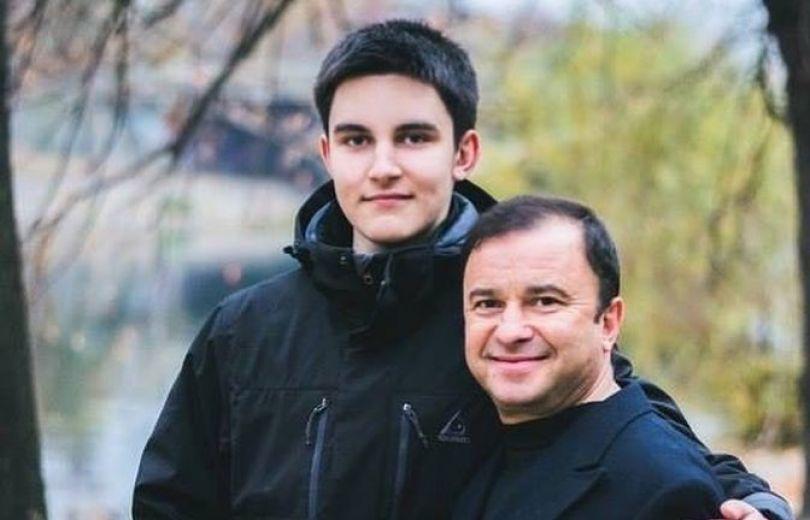 Виктор Павлик и его сын Павел