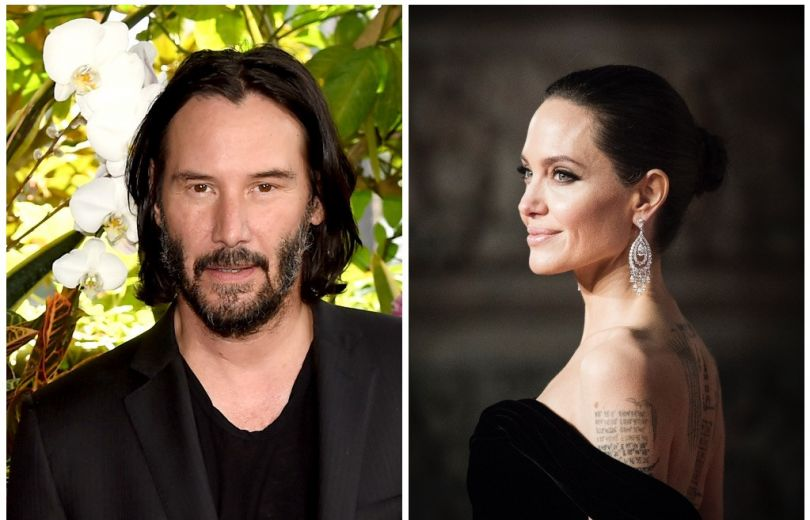 Анджелина Джоли и Киану Ривз