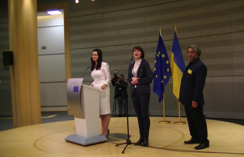 Презентация проекта «Переможці» в Европарламенте состоялась