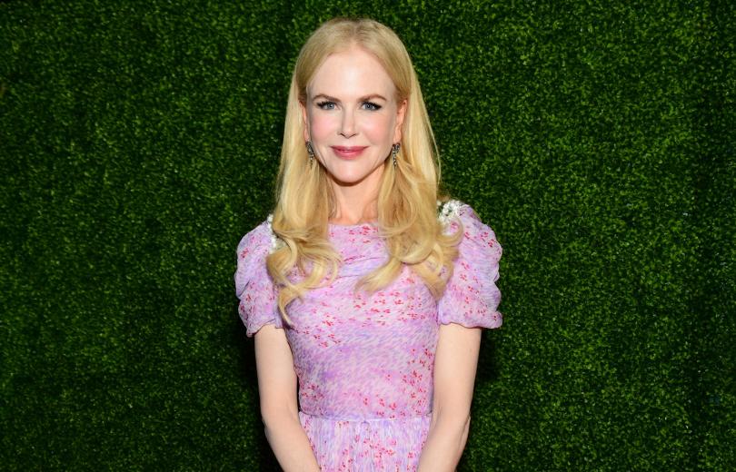 Словно лесная фея: Николь Кидман в нежном розовом платье
