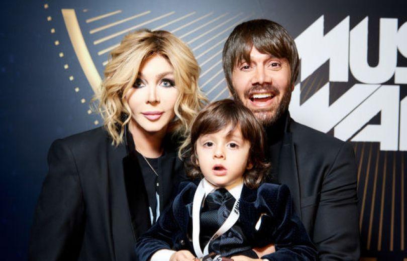 Ирина Билык на М1 Music Awards