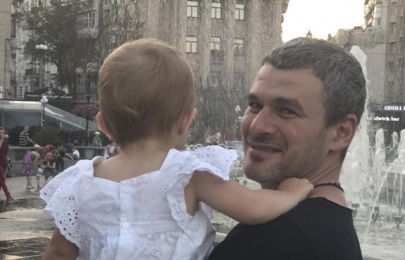 Арсен Мирзоян с дочерью Ниной