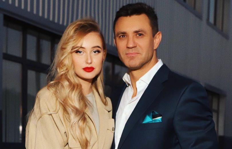 Николай Тищенко с женой