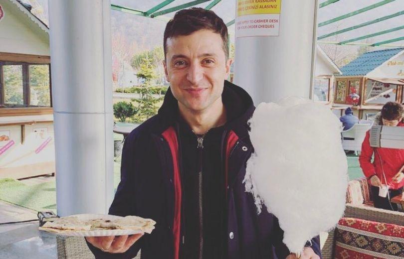 Владимир Зеленский в Азербайджане