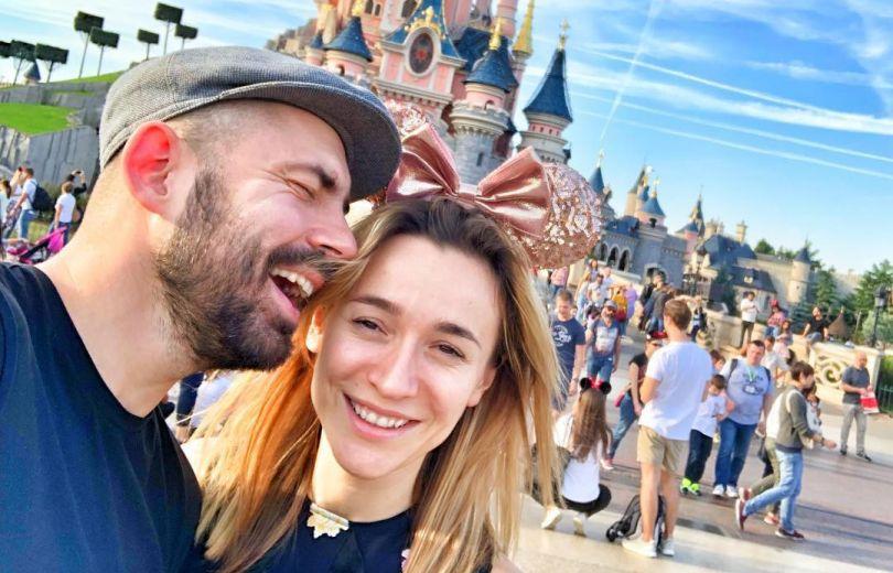 Андрей Бедняков с женой