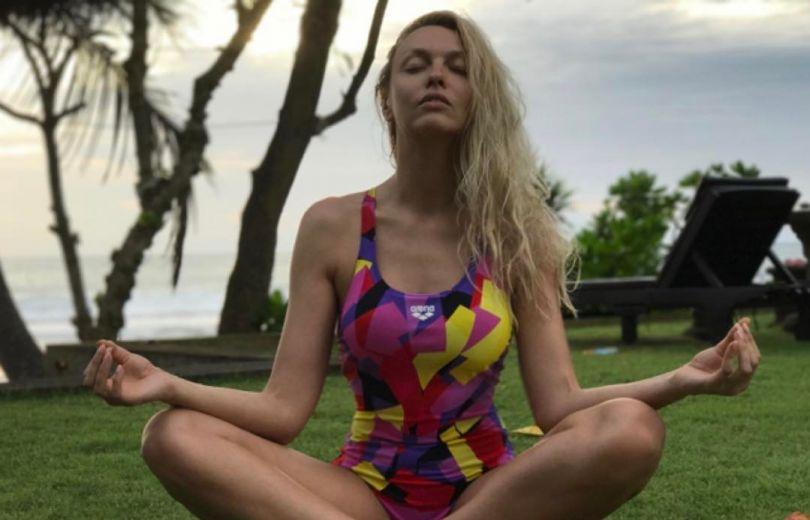 Оля Полякова на Бали