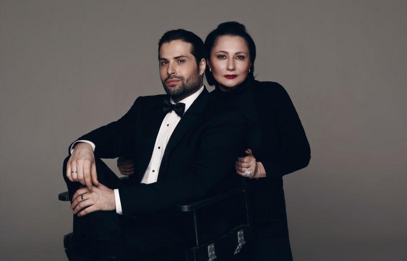 Дэвид Аксельрод и Алена Мозговая