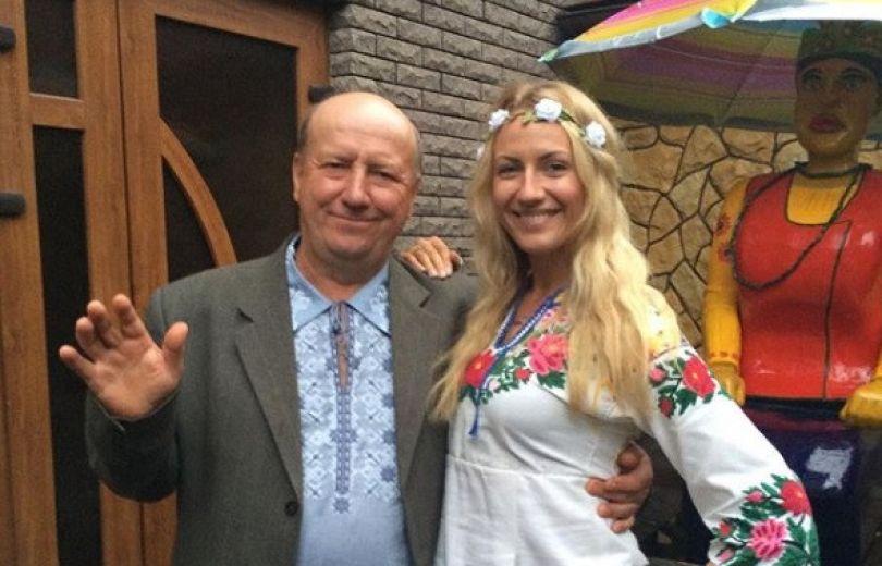 Леся Никитюк с папой