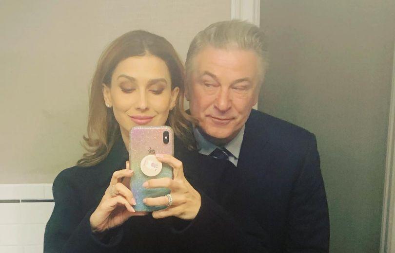 Алек Болдуин и его жена