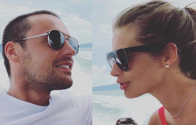 Все же вместе: Кэти Топурия призналась, что ушла от мужа-миллионера к рэперу Гуфу