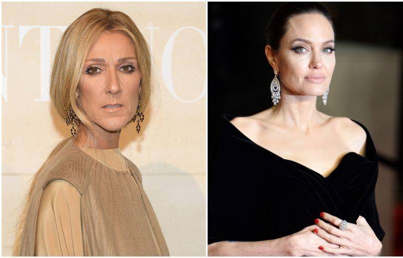 Селин Дион и Анджелина Джоли
