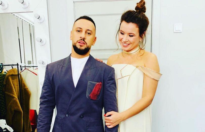 Диима Монатик с женой