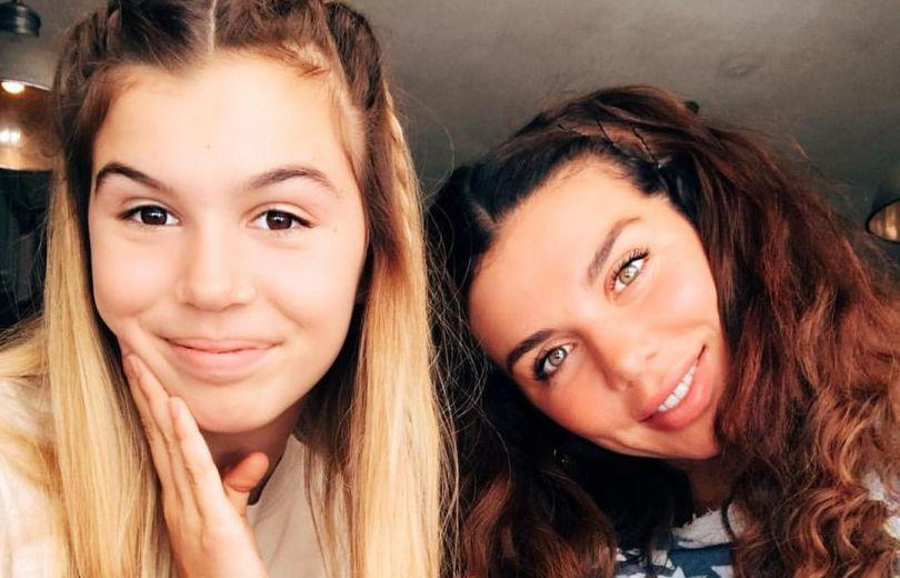 Анна Седкова с дочерью Алиной