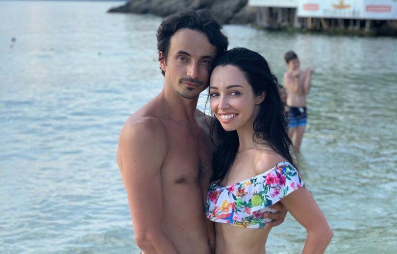 Пляжные каникулы Екатерины Кухар и Александра Стоянова