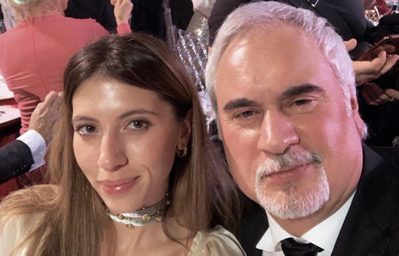 Валерий Меладзе и дочь
