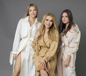 Ольга Сумская и ее взрослые дочки в фотосессии для Viva!