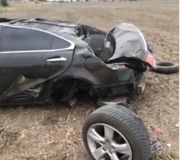 Максим Ежов попал в аварию