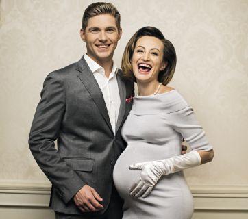 Владимир Остапчук снялся в фотосессии с беременной женой