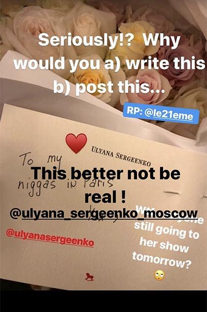 Скандал в мире моды: Наоми Кэмпбелл обвинила российского дизайнера Ульяну Сергеенко в расизме