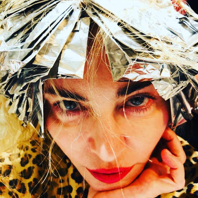 Мадонна выложила в Instagram голое селфи