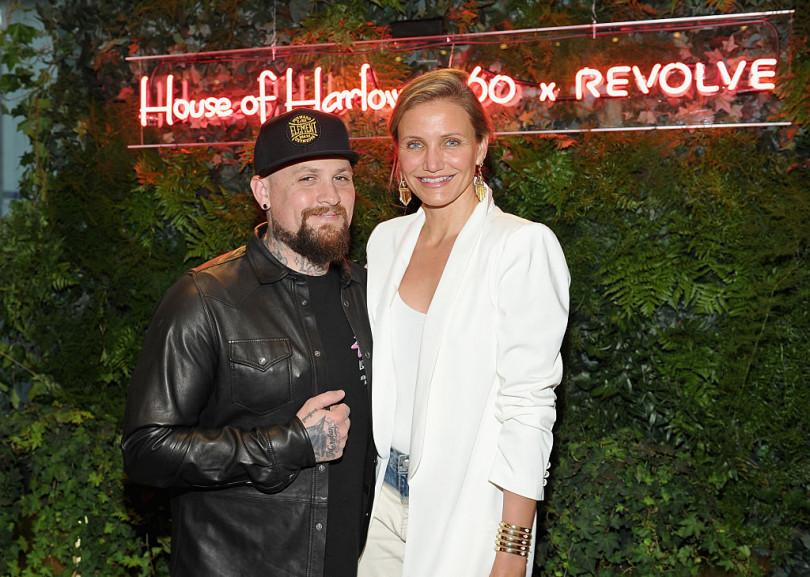 Cameron Diaz and her husband Benji Madden