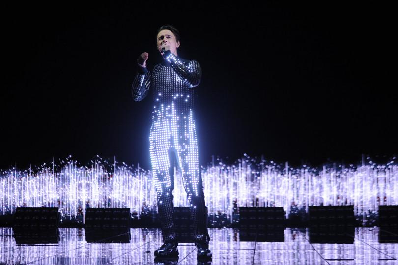 Алексеев на конкурсе Евровидение 2018