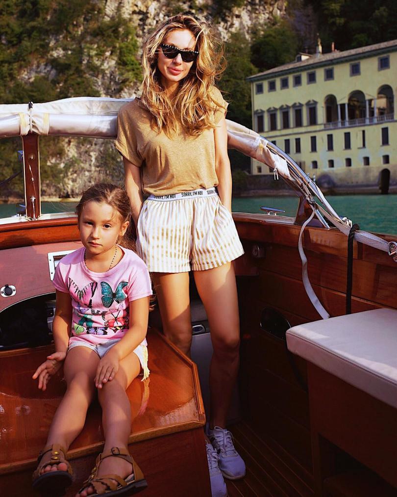 Светлана Лобода и ее дочь Ева