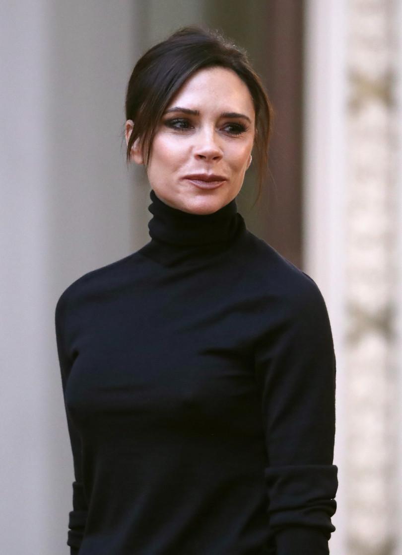 Улыбка Виктории Бекхэм