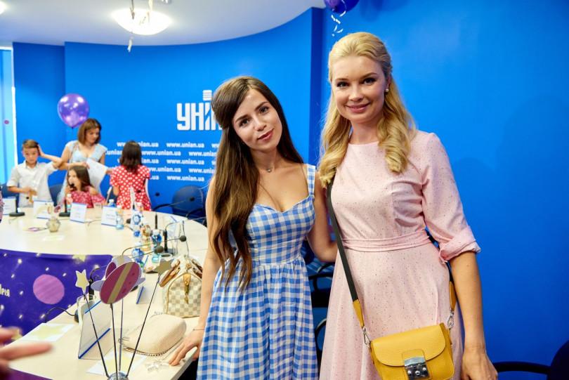 Лидия Таран и Христина Соловий
