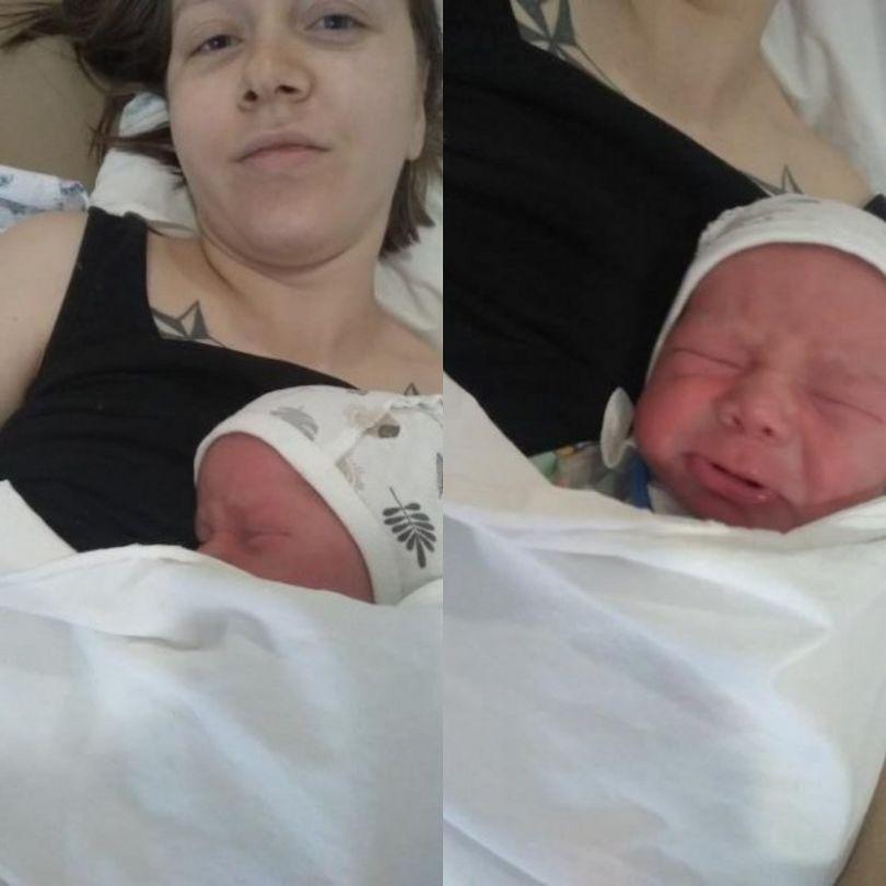 Участница проекта «Від пацанки до панянки» Алина Шевченко показала первые фото новорожденного сына