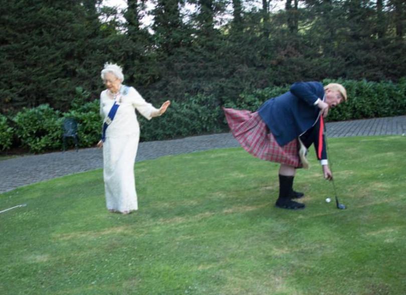 Сеть облетели скандальные снимки членов королевской семьи