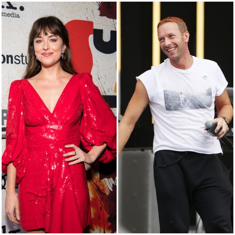 Дакота Джонсон выходит замуж засолиста Coldplay Криса Мартина