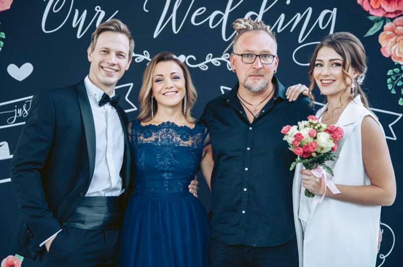 Валентин Томусяк и Екатерина Тышкевич поженились