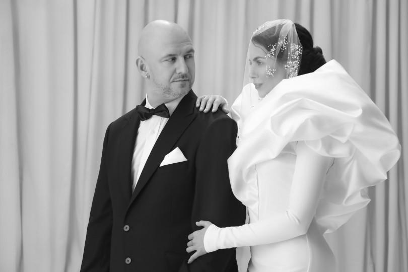 Потап и Настя Каменских в свадебных нарядах